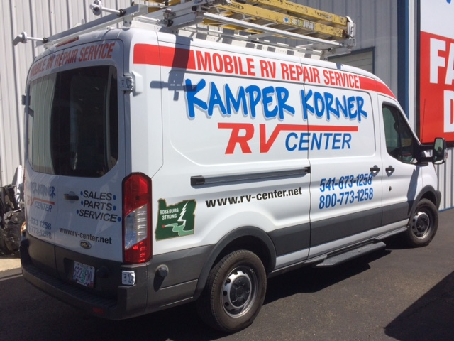 Service Department Kamper Korner Roseburg Oregon
